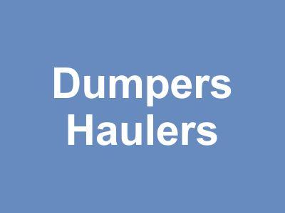 Dumpers & Haulers