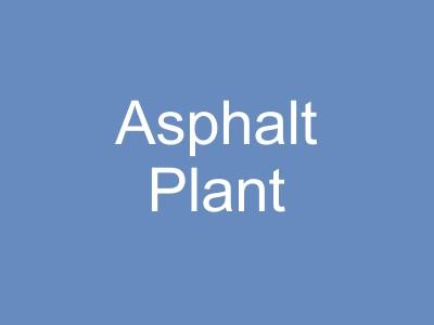 Asphalt Production Plant