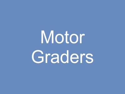 Motor Graders and Scrapers