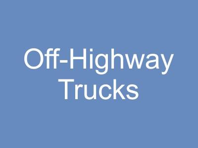 Off-Highway Trucks