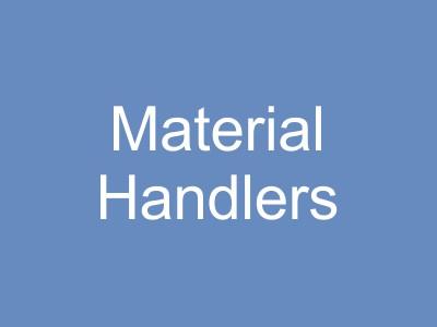 Material Handlers