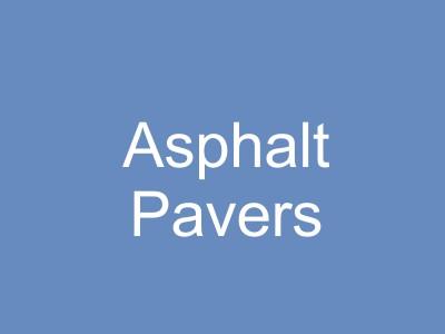 Asphalt Paving Equipment