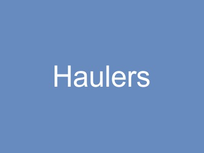 Haulers