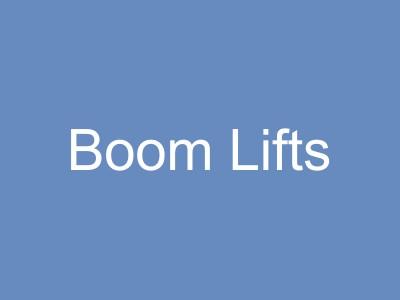 Boom Lifts & Cranes