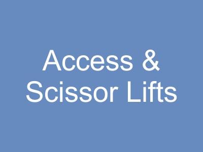 Access Equipment and Scissor Lifts