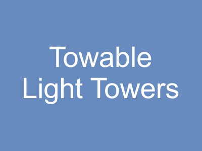 Towable Light Trailers
