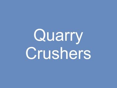 Quarry Crushing and Screening Equipment